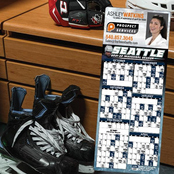 Magnetic Hockey Schedules
