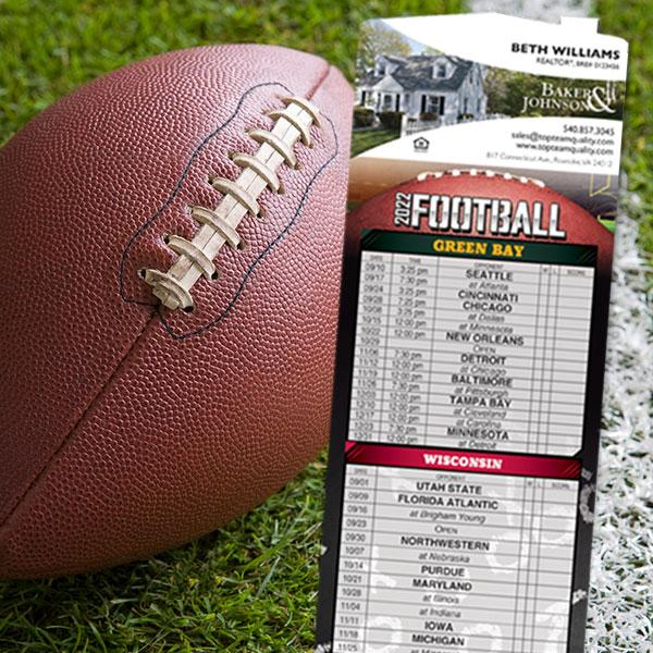 Magnetic Football Schedules