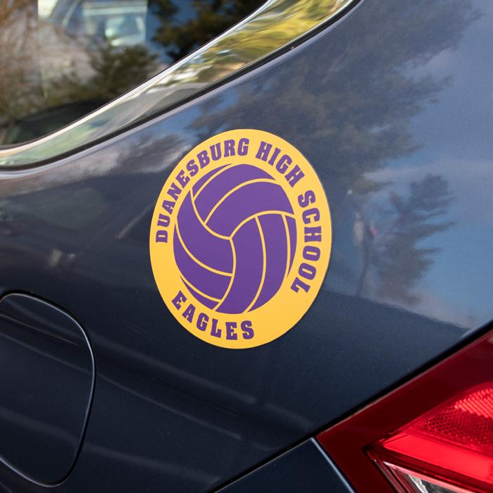 Team Spirit Car Magnets