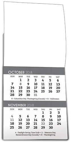 inside pages for healthy living calendar magnets