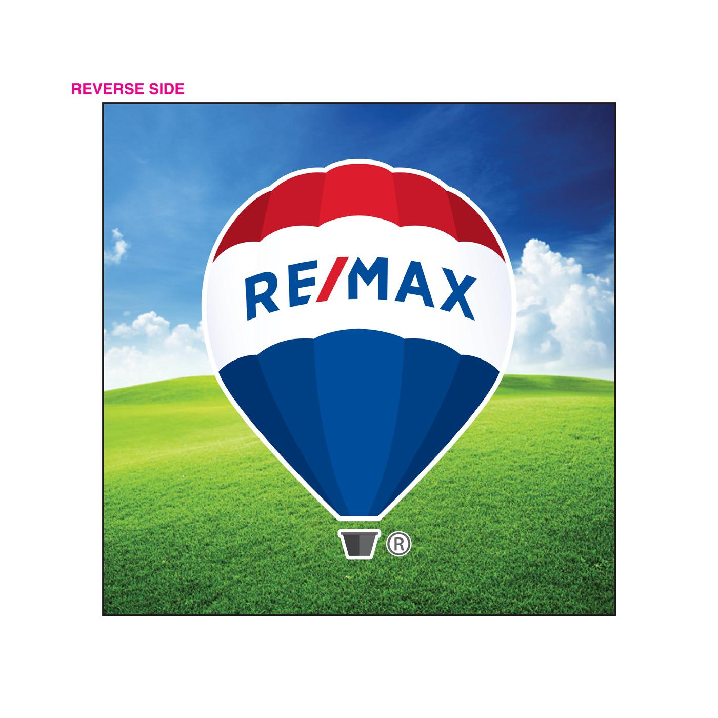 RE/MAX Square Business Card