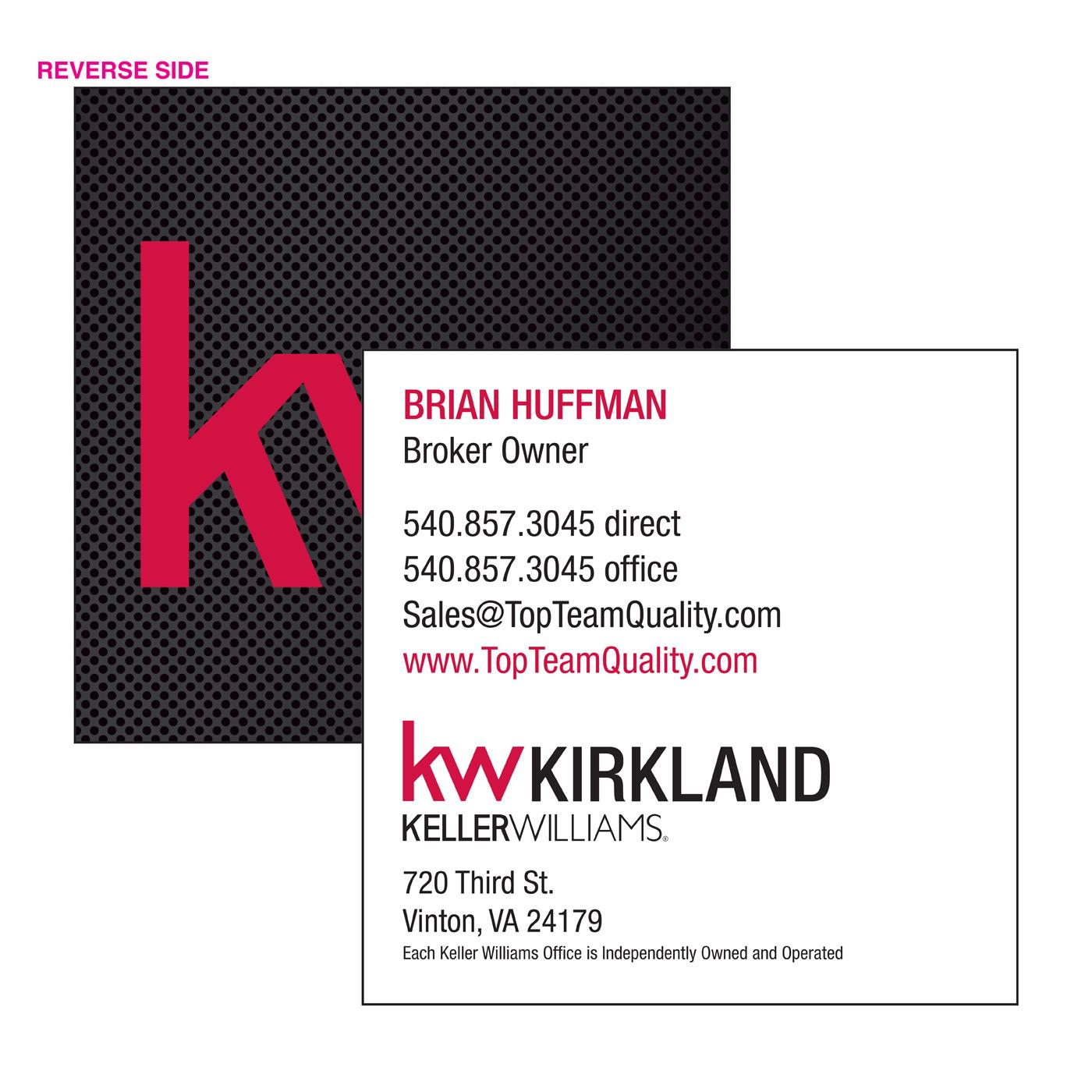 Keller Williams Square Card