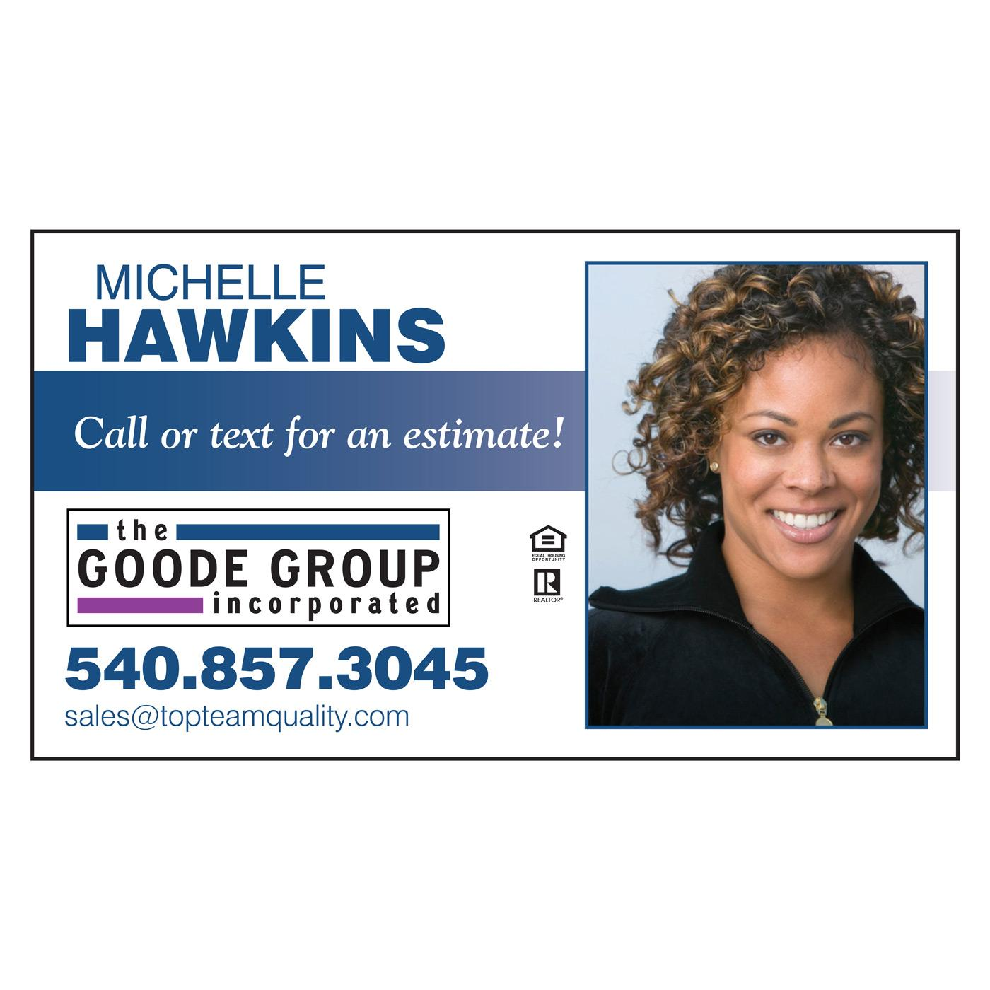 Bestselling realtor business card
