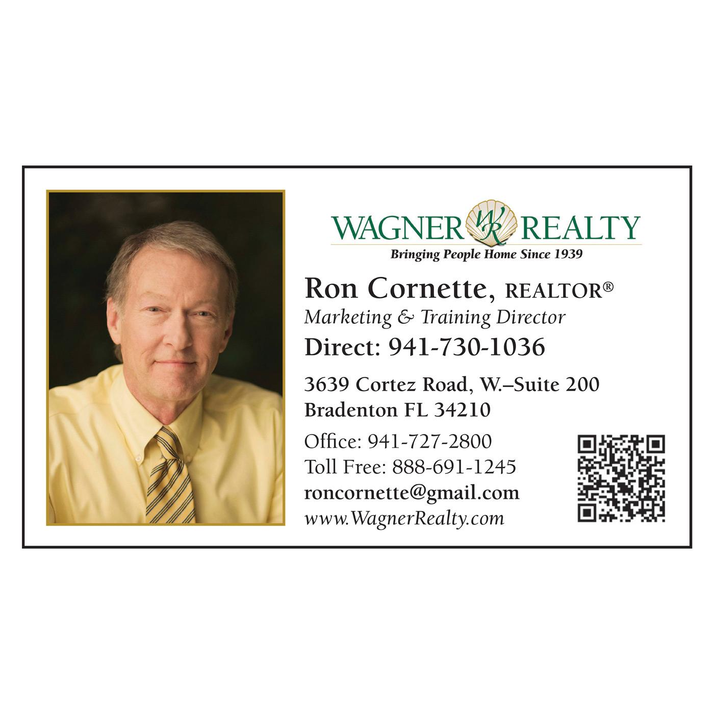 Wagner Realty Paper Business Card