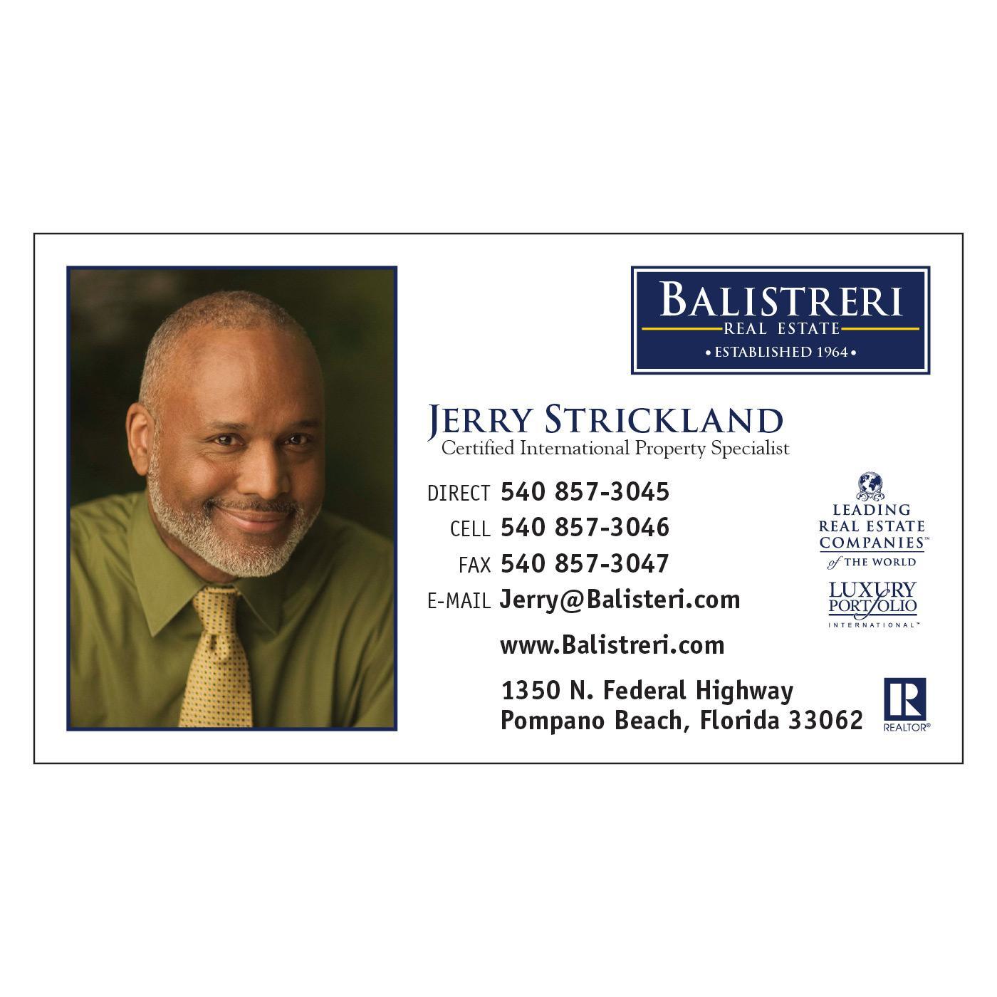 Ballistreri Realty business card