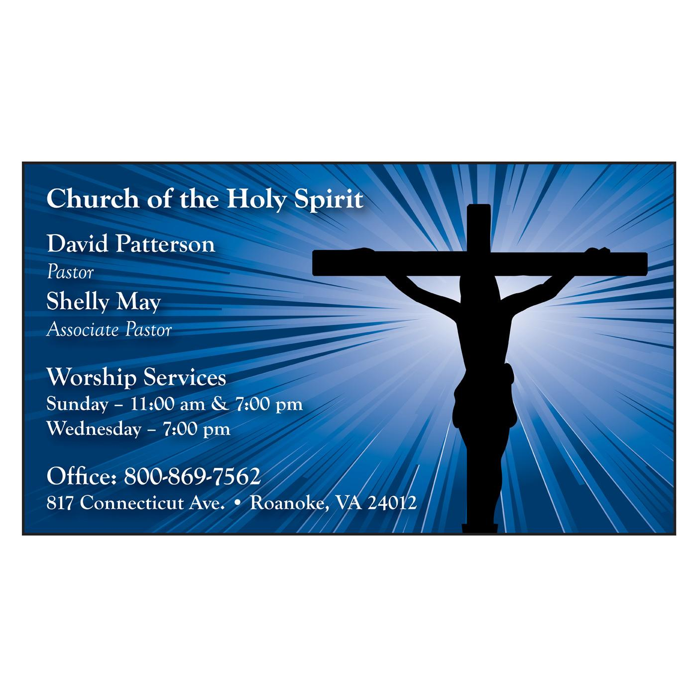Christian business card