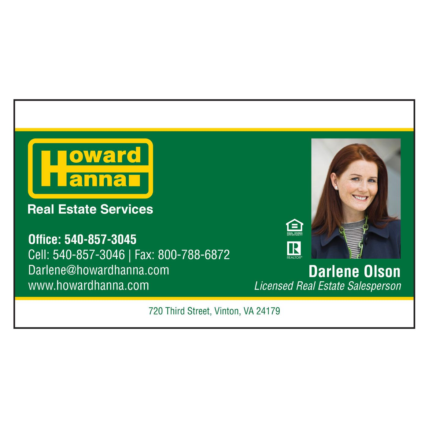 Howard Hanna Business Card