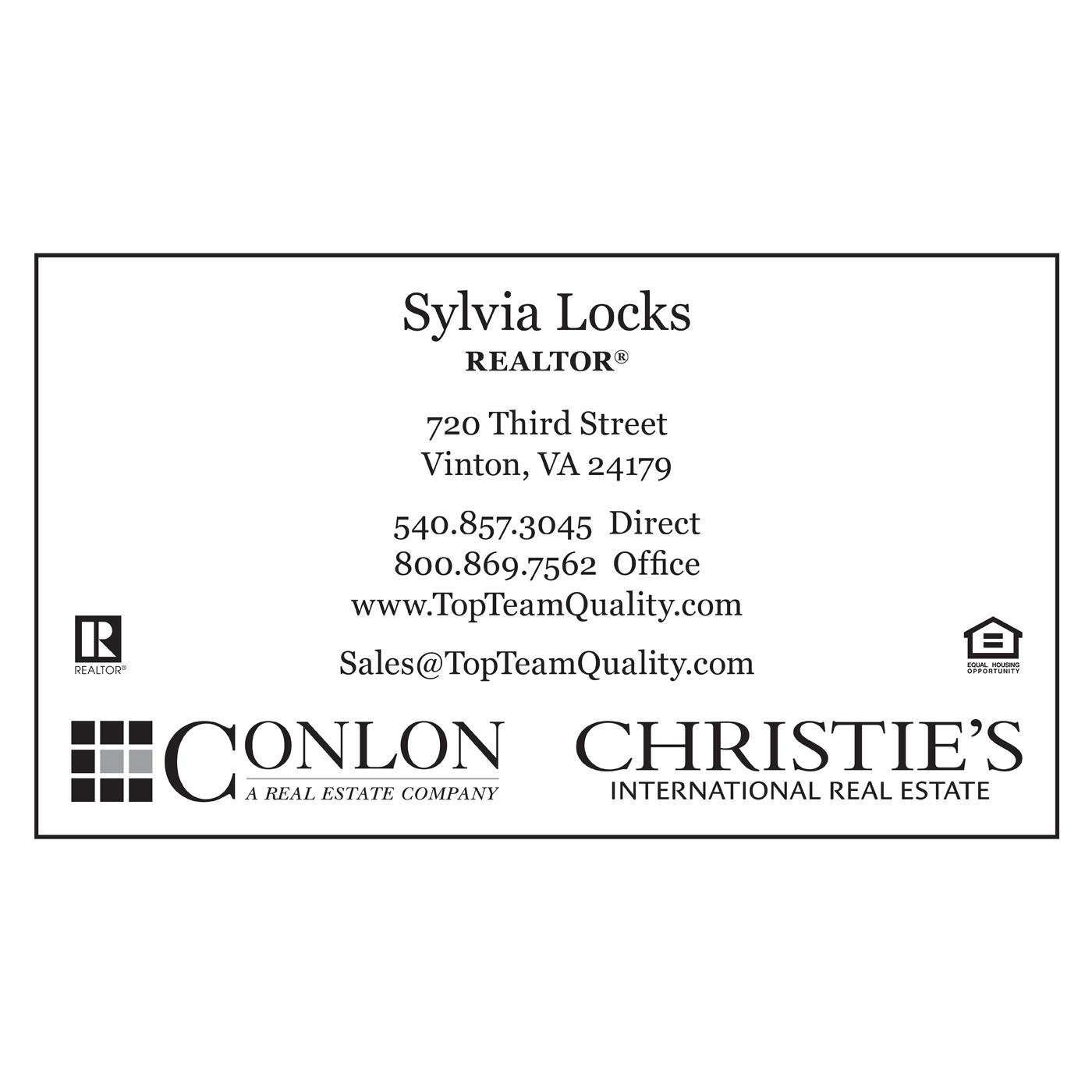 Conlon Real Estate Business Card