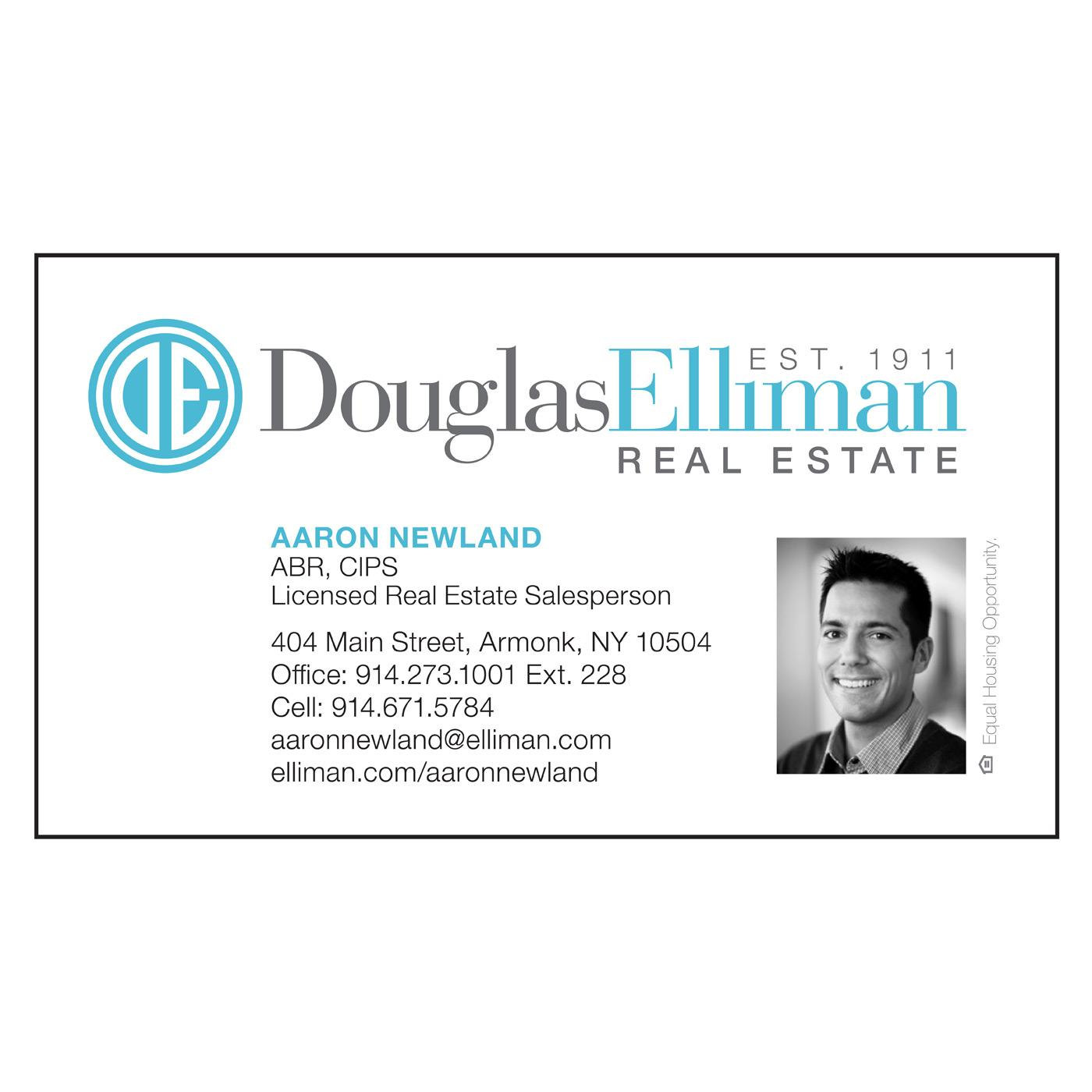Douglas Elliman business card