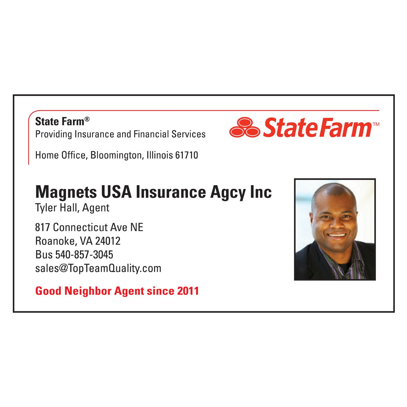 State Farm paper business card