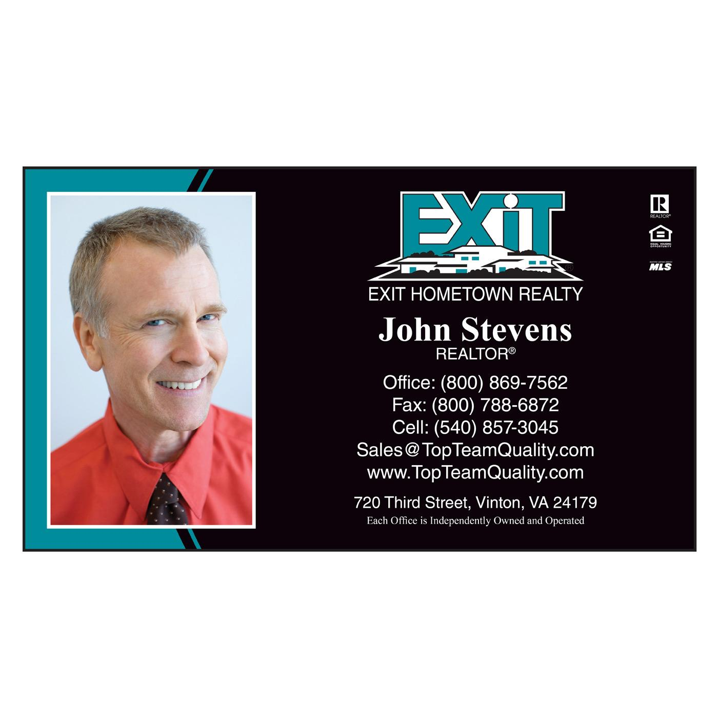 Exit Realty Business Card