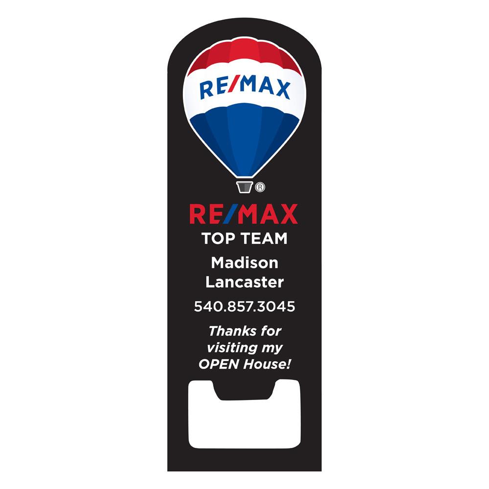 REMAX Black Bottle Opener Arc