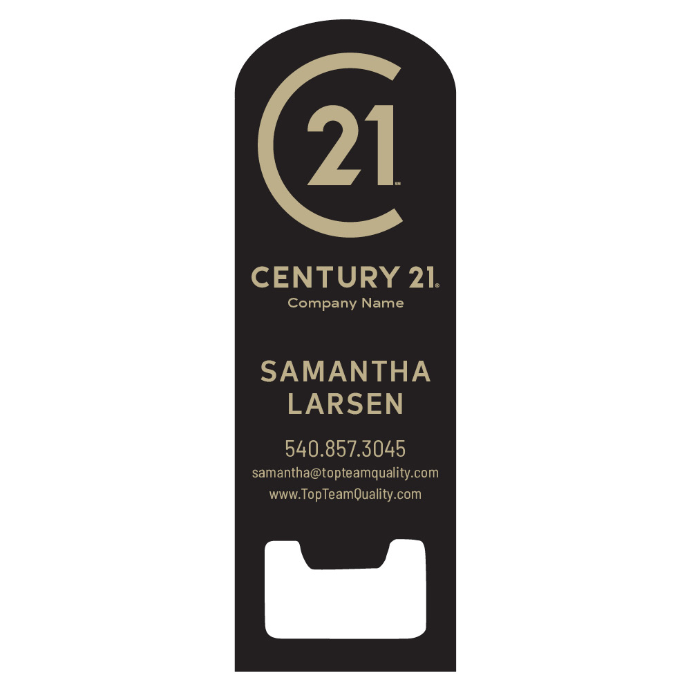 Century 21 Magnetic Bottle Opener