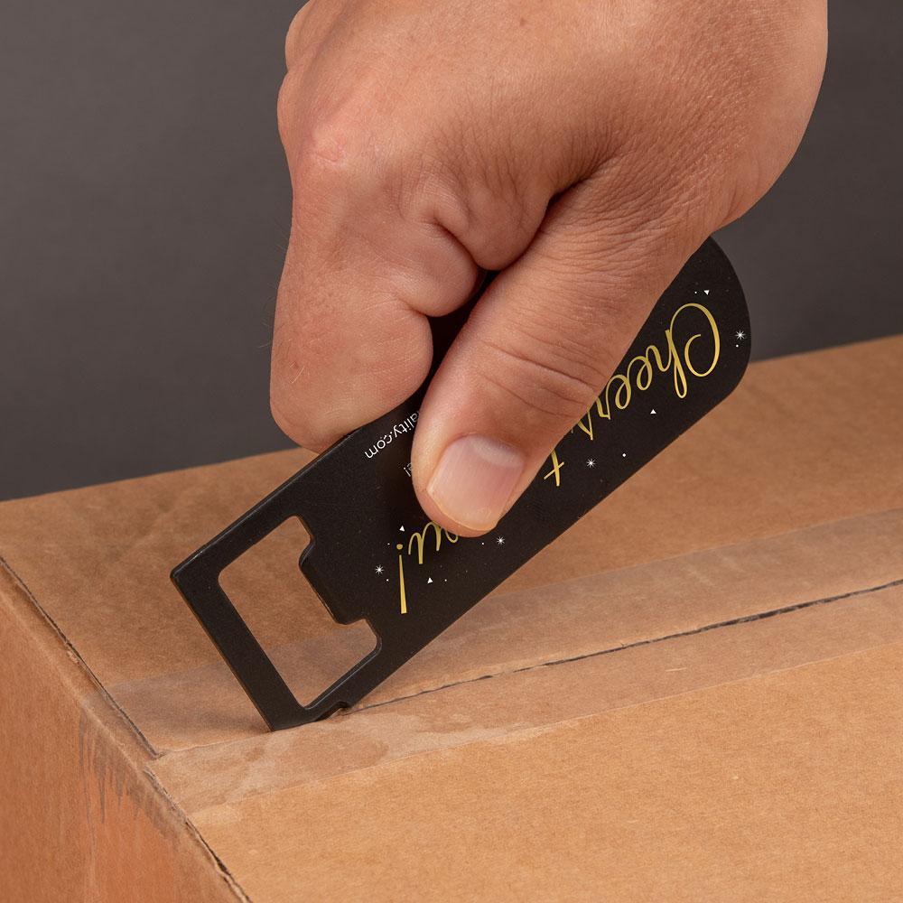 magnetic box opener tool