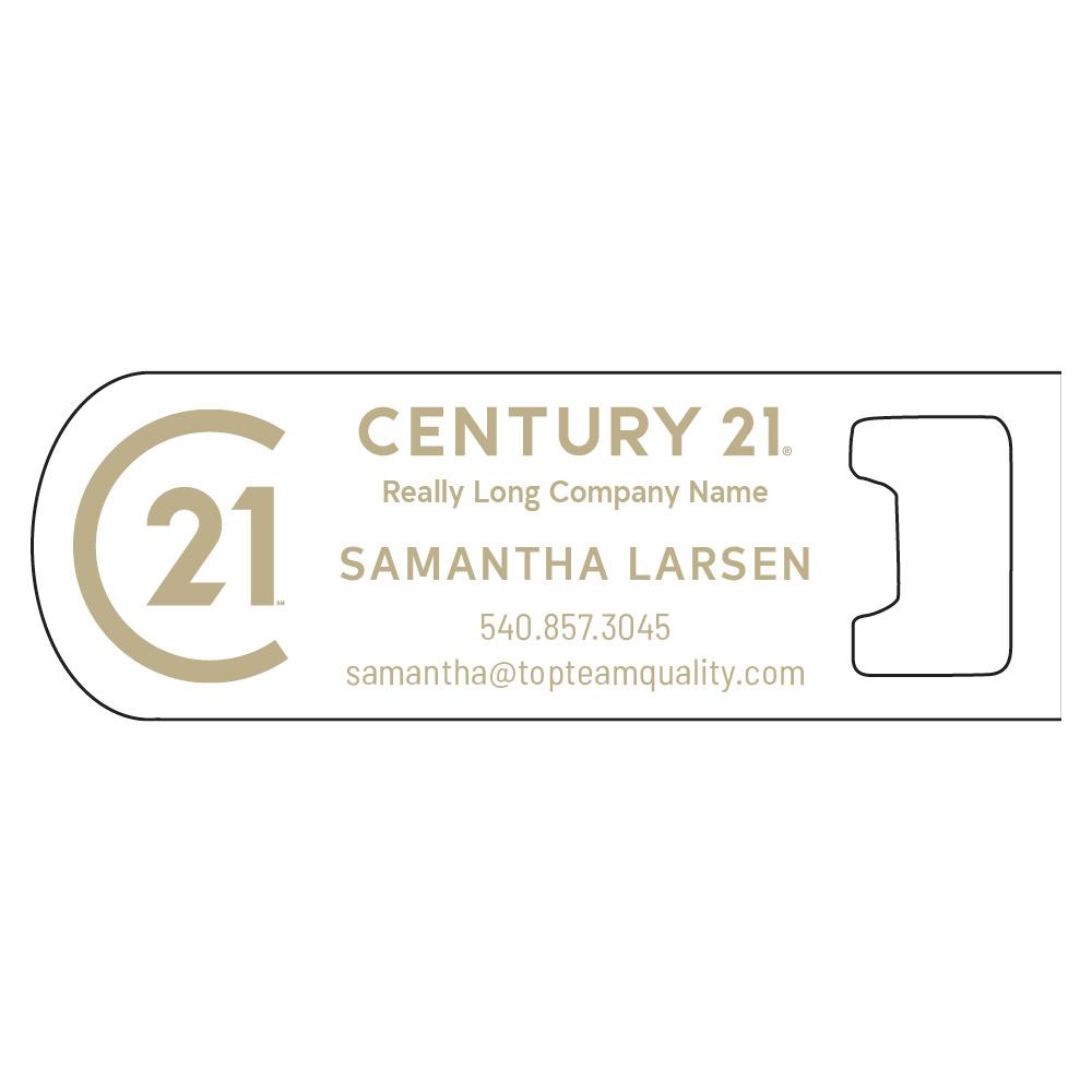 Century 21 Magnetic Bottle Opener