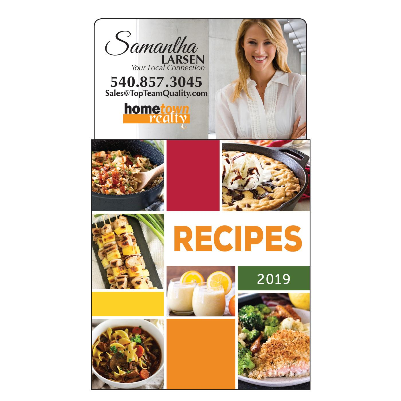 Calendar Magnet with Easy Recipes
