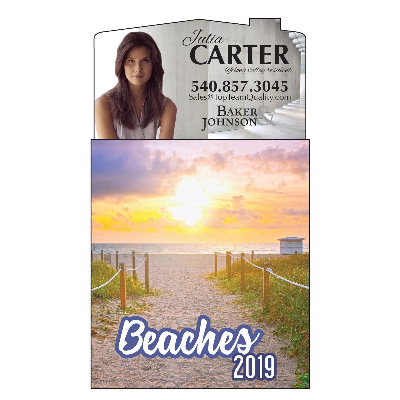 Magnetic Calendar with Beach Pages