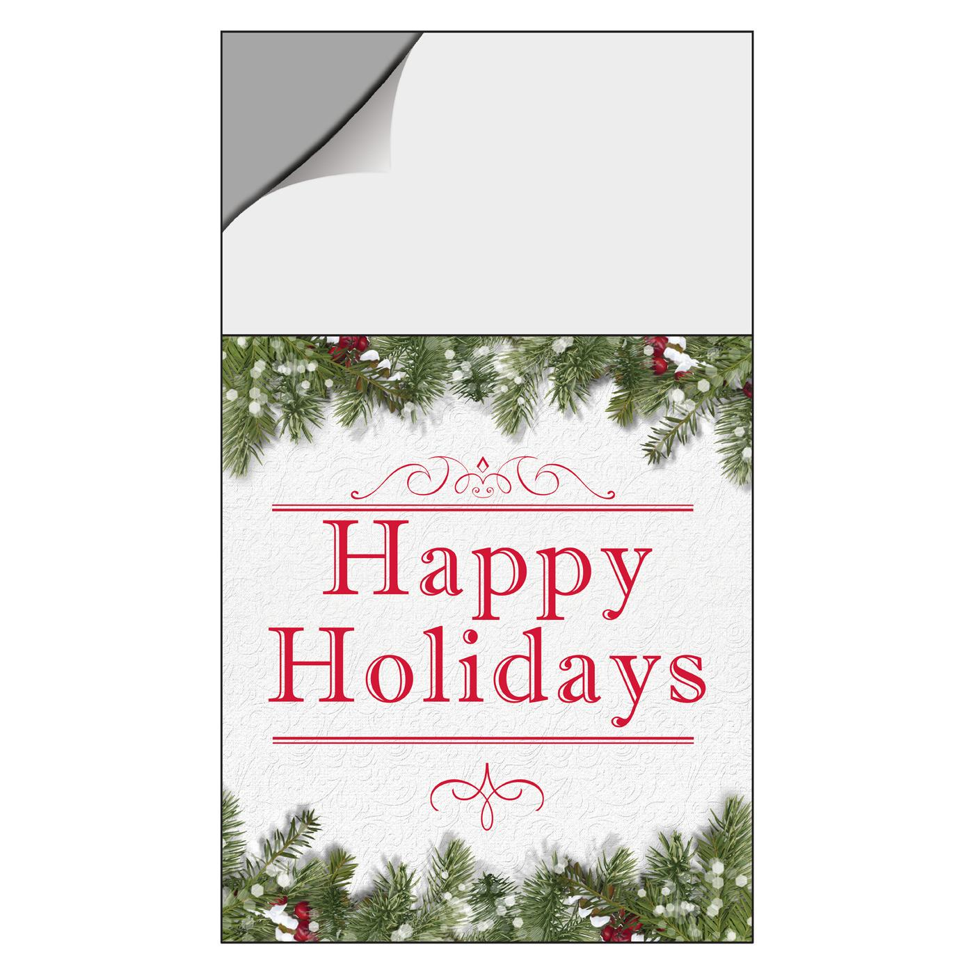 Happy Holidays Magnetic Calendar