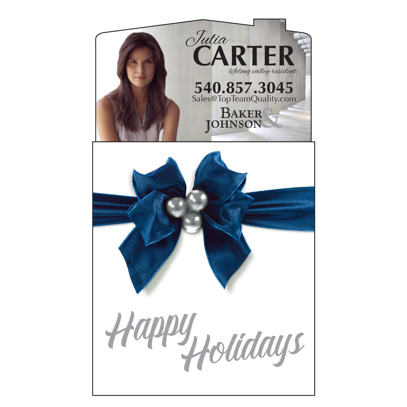 Holiday Calendar Magnet for Realtor