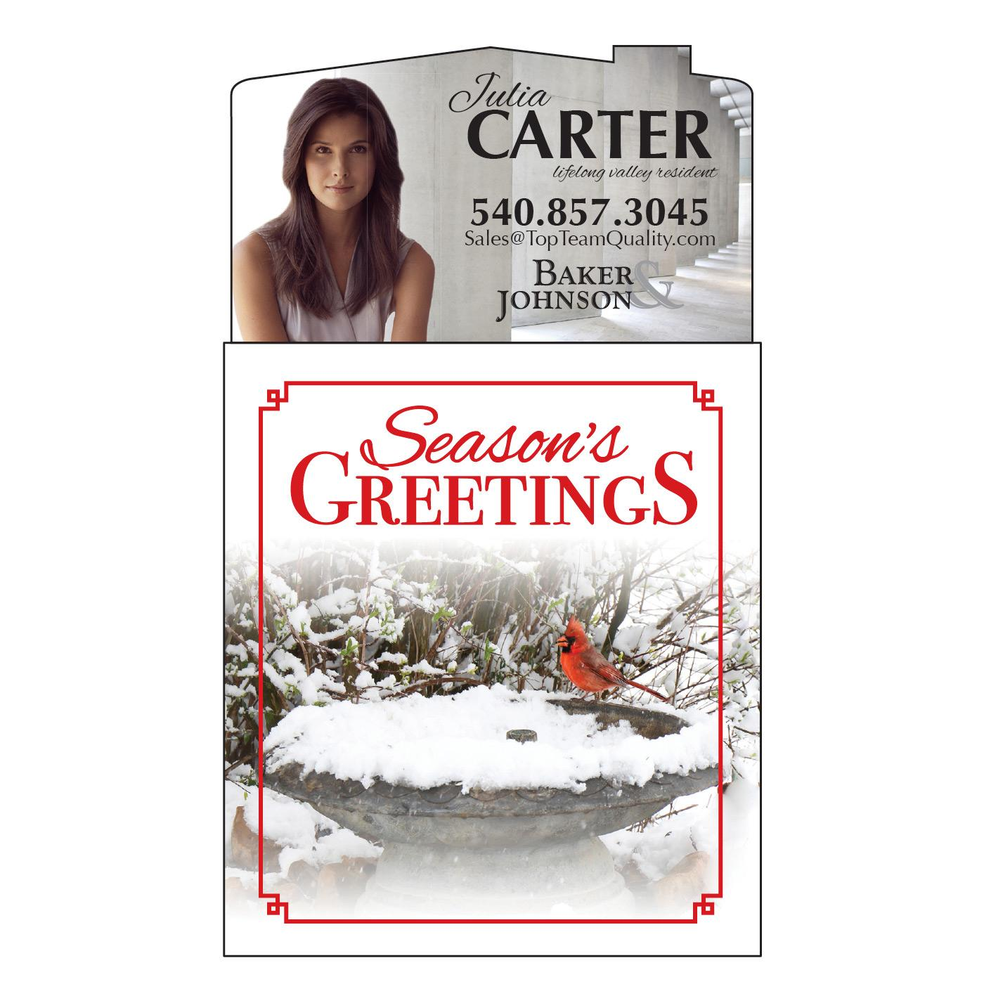 Holiday Tear-Off Calendar Magnet