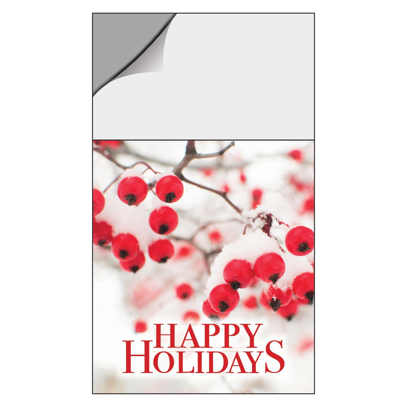 Happy Holidays Calendar Magnet