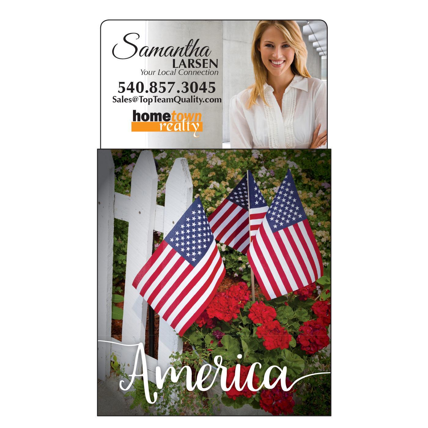 America Tear-Off Calendar Magnet