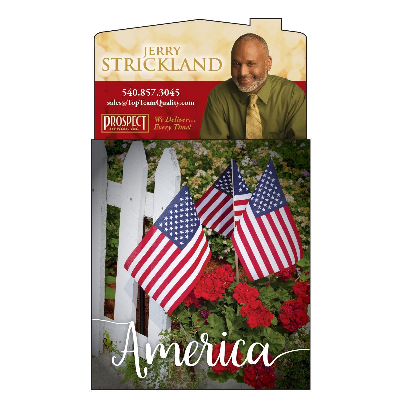 Patriotic Calendar Magnet