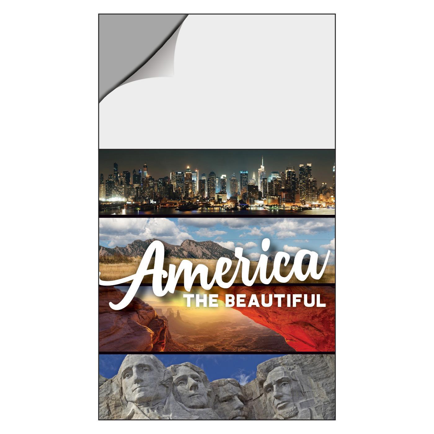 American Landscapes Calendar Magnet