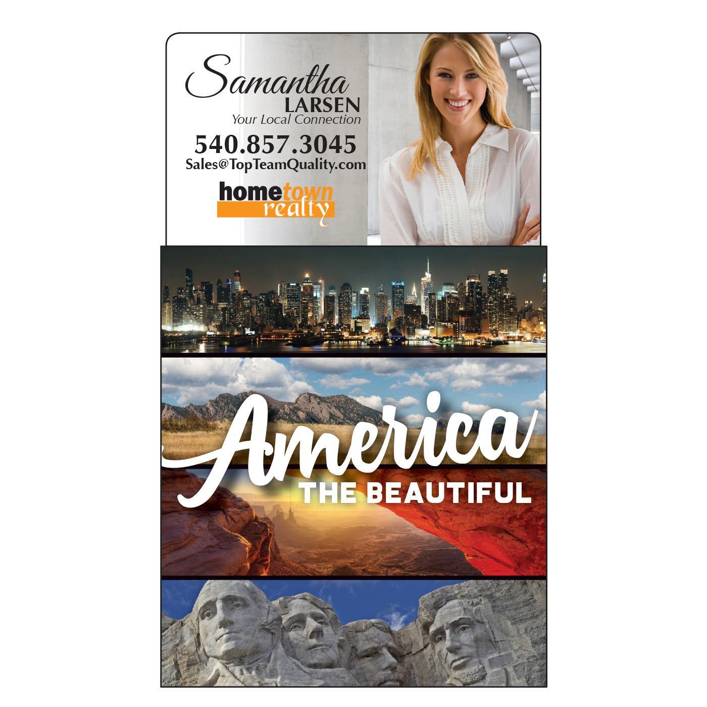America Landscapes Calendar Magnet