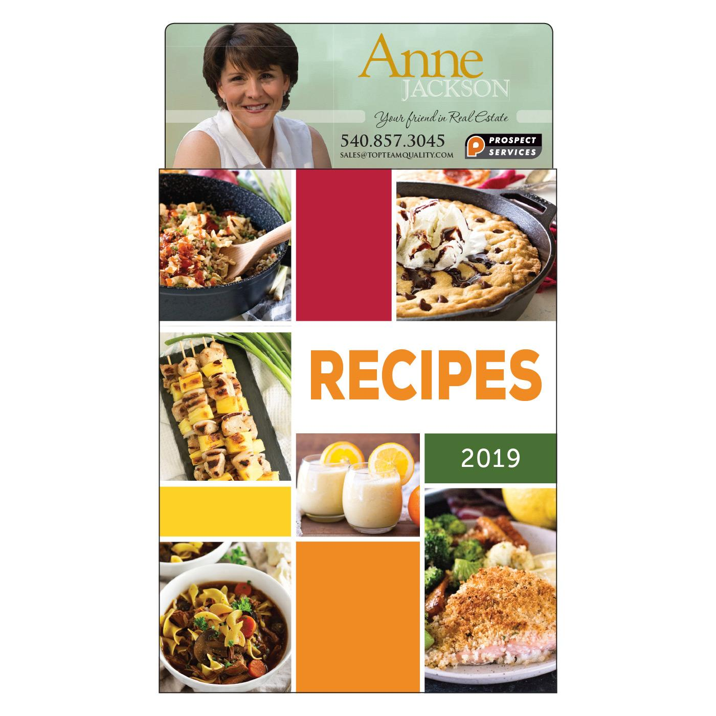 Large Calendar Magnet with Recipes