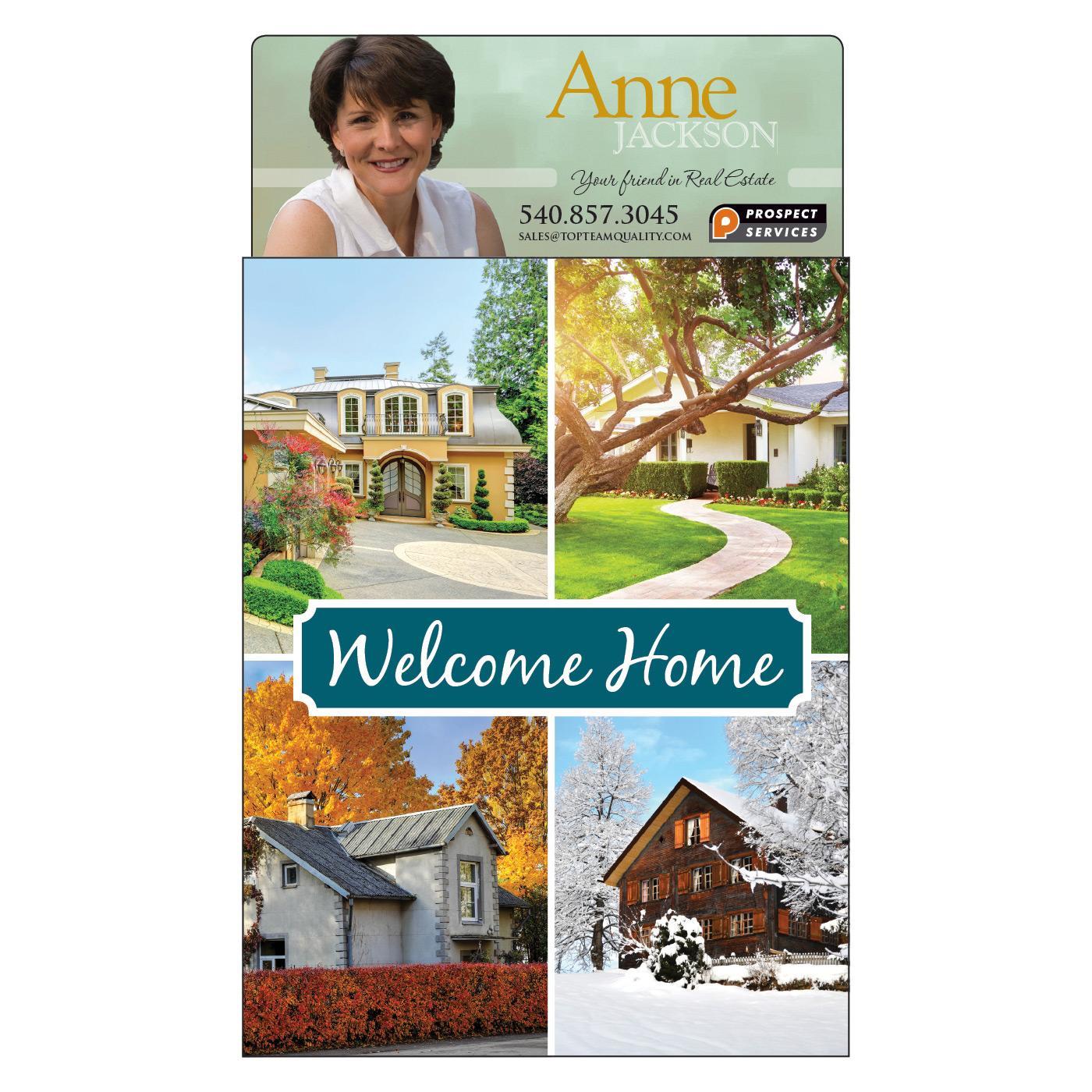 Home Collage Jumbo Calendar Magnet