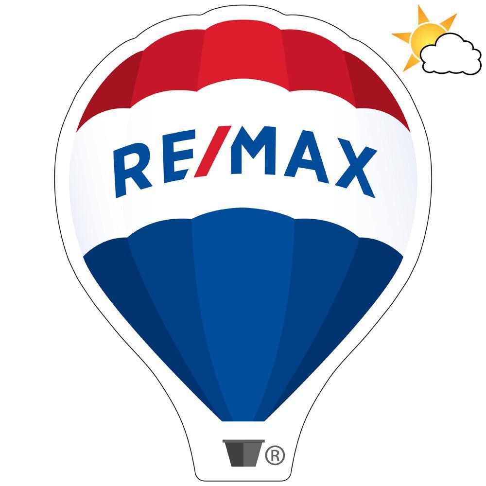 RE/MAX Balloon Car Magnet