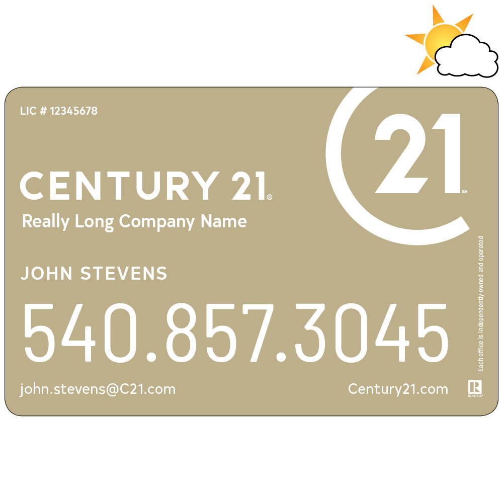 Century 21 Car Magnet
