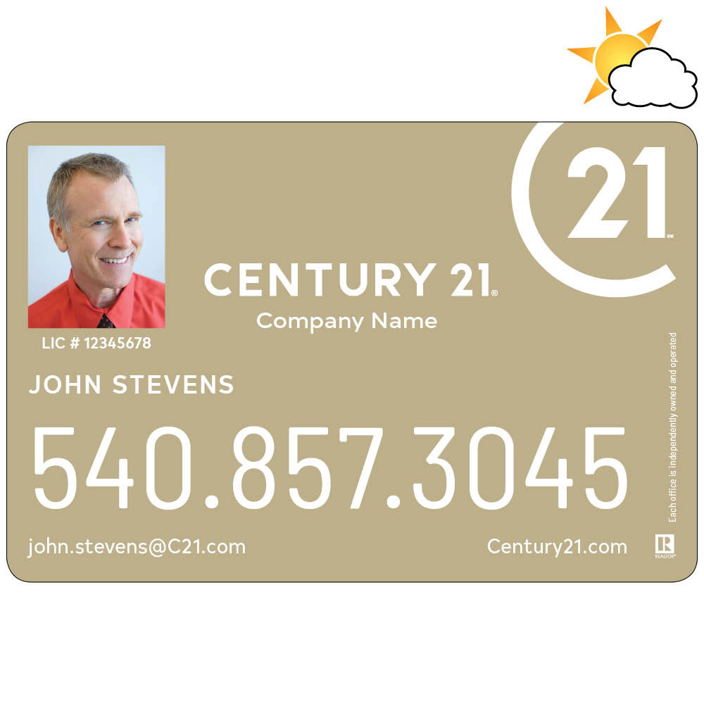Century 21 Car Magnet with Photo