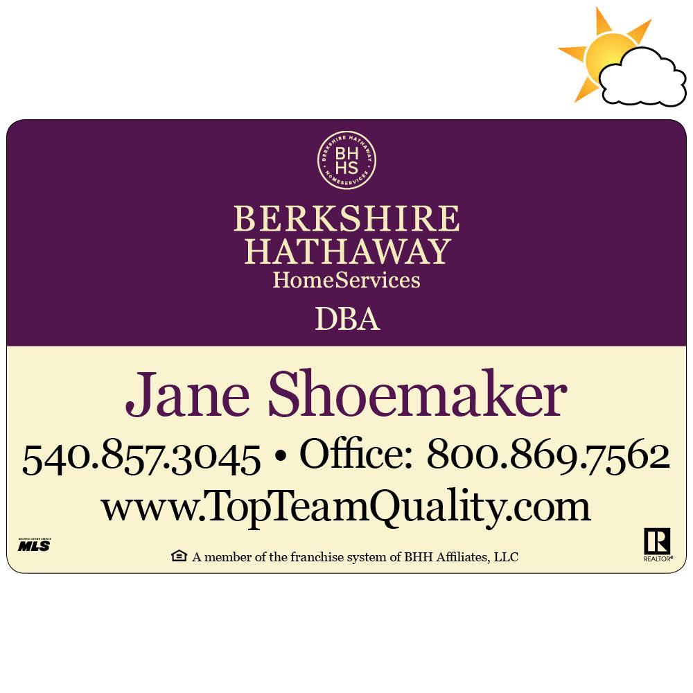 Berkshire Hathaway Car Magnet