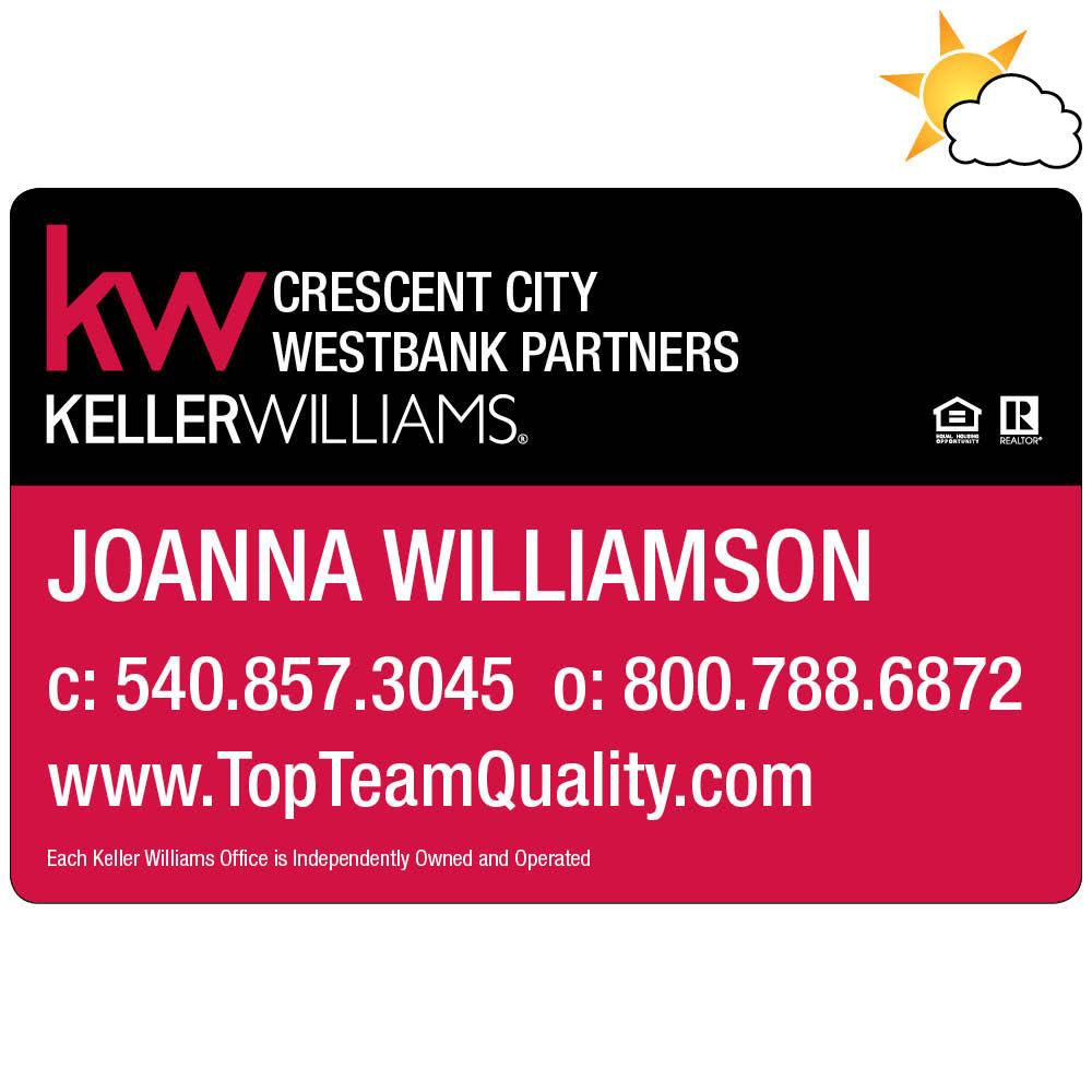 Keller Williams Car Magnet