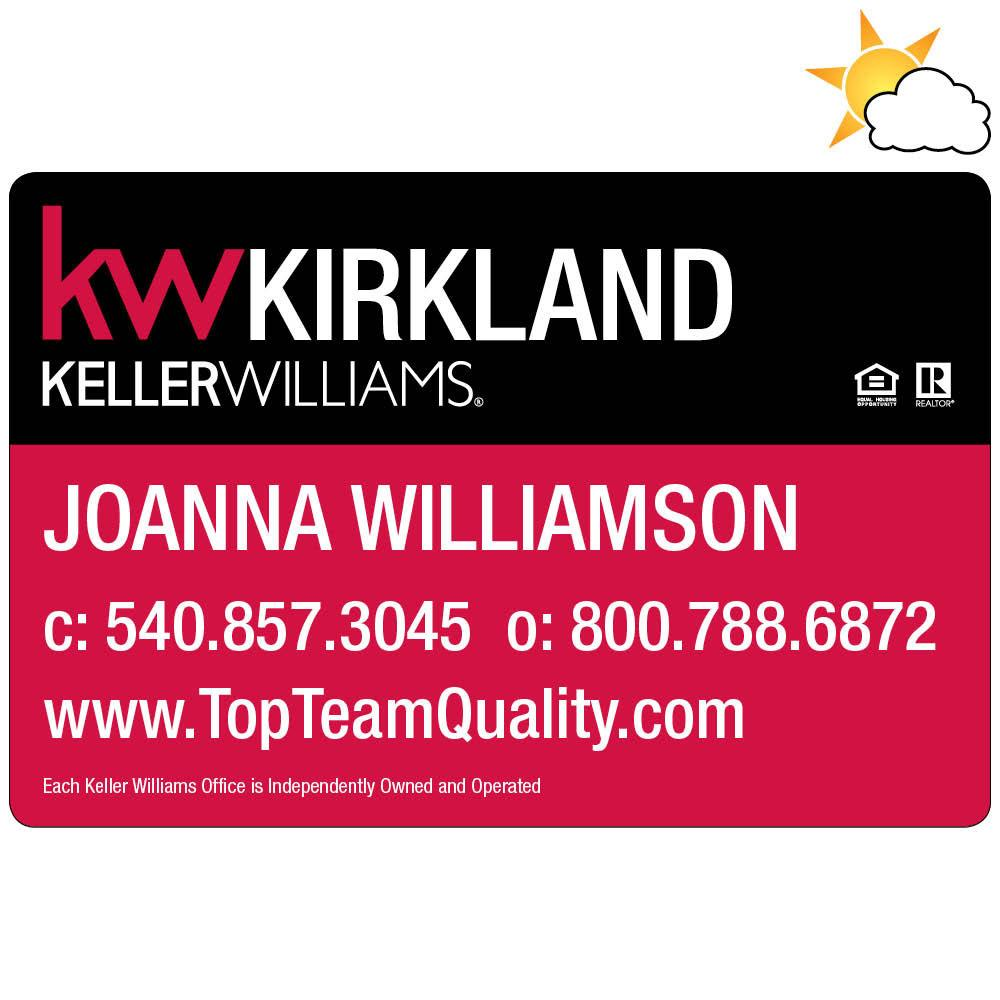 Keller Williams Car Magnet