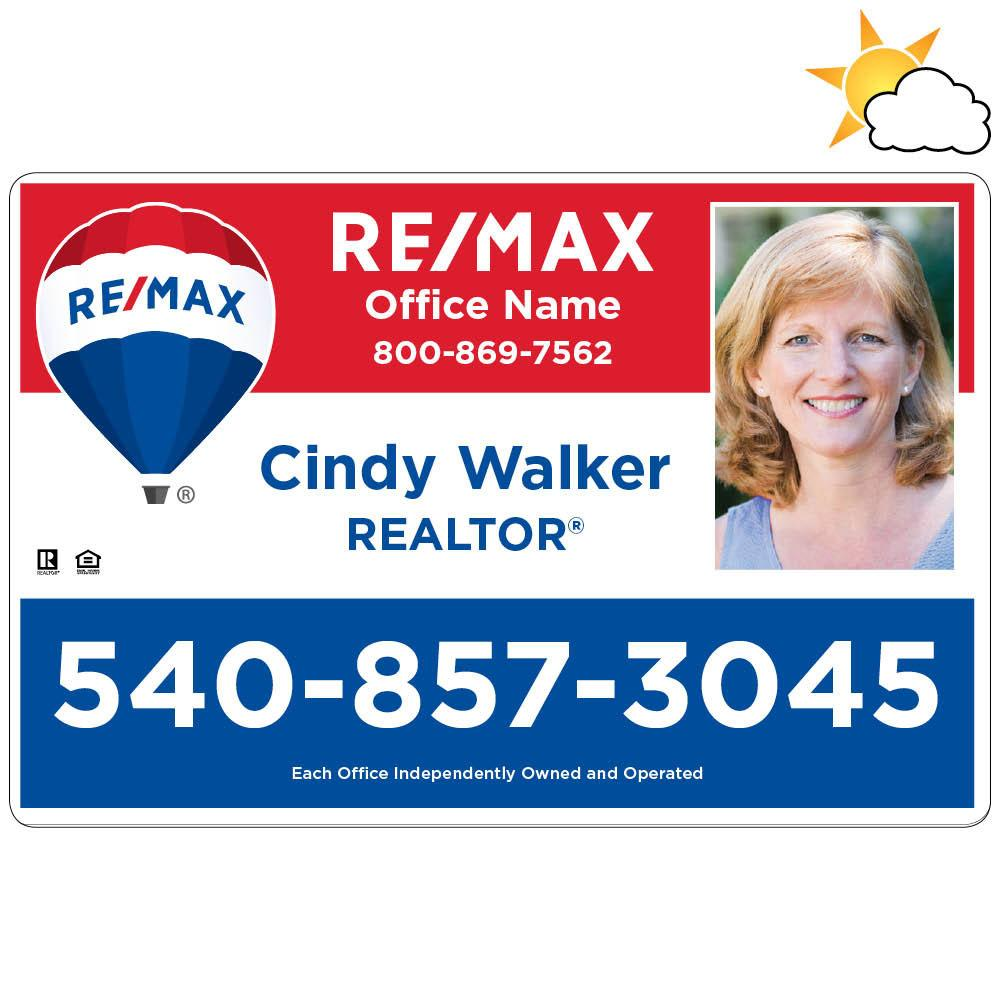 RE/MAX Car Magnet with Photo