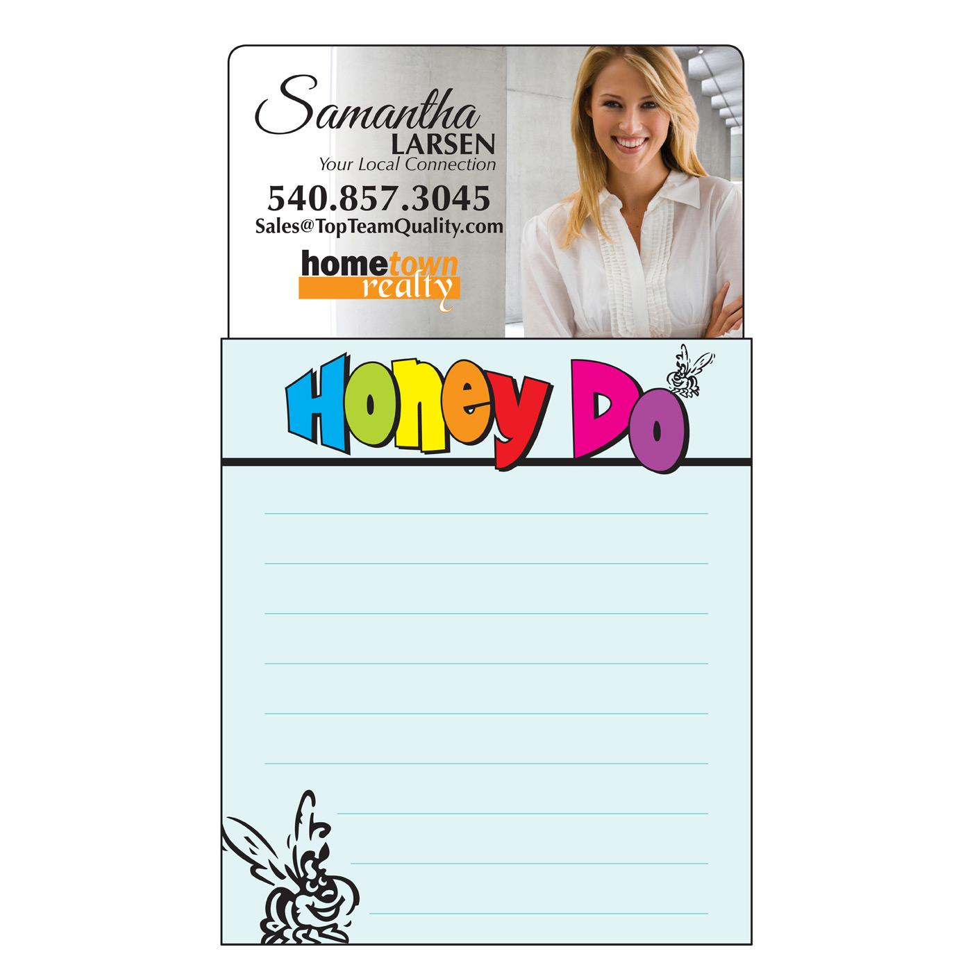 promotional magnetic notepad