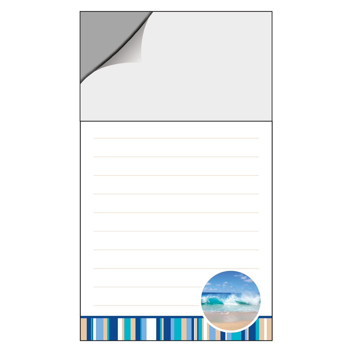magnetic notepad for marketing