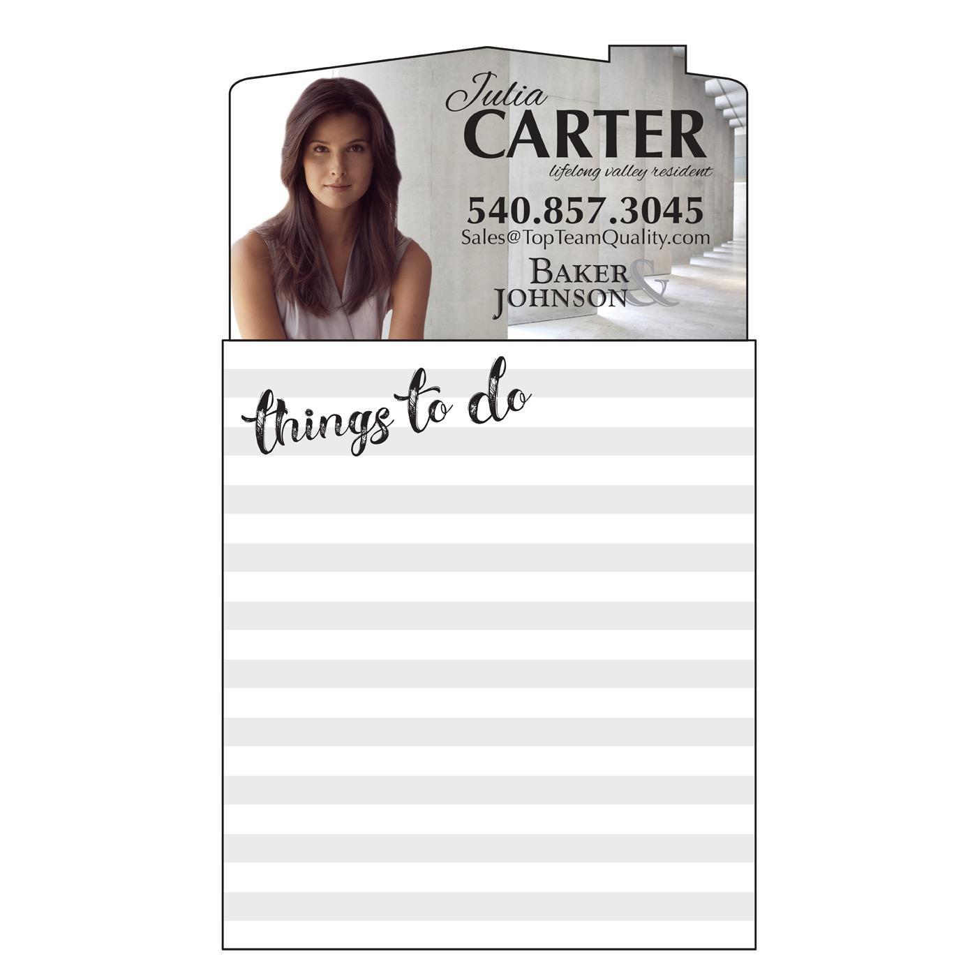 promotional marketing notepad