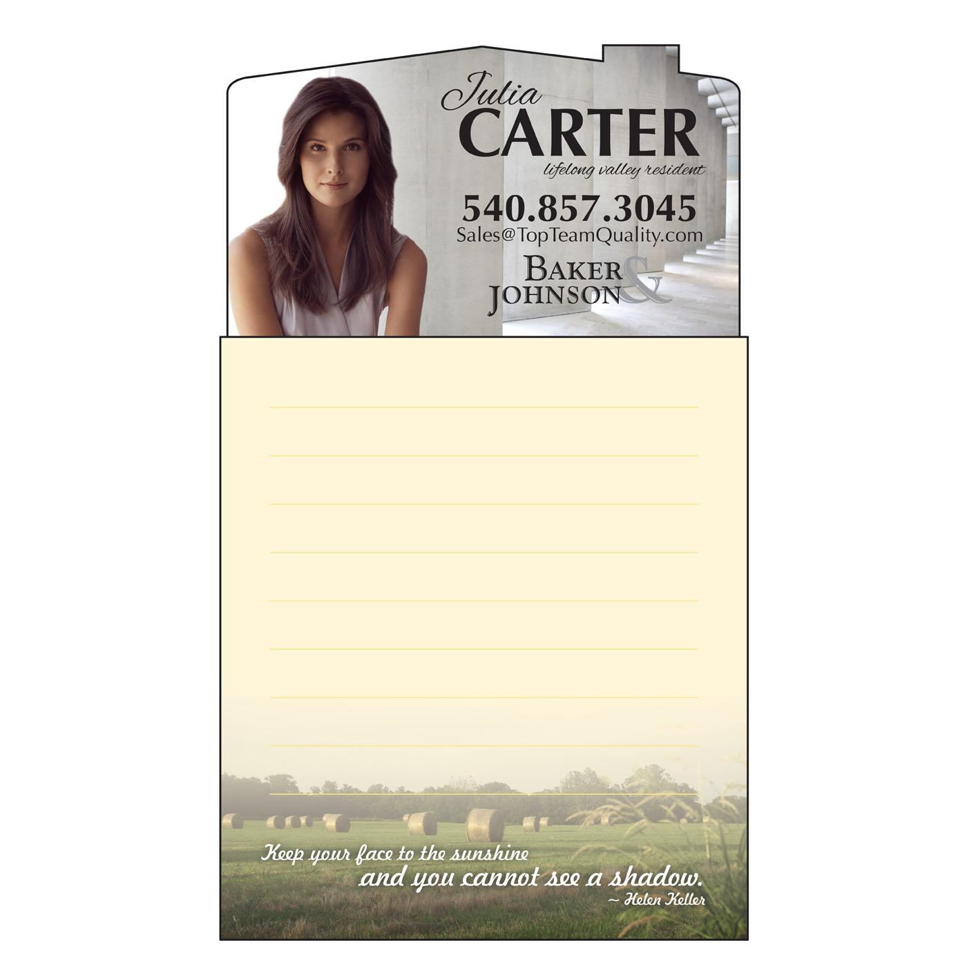 notepad magnet with famous quotes