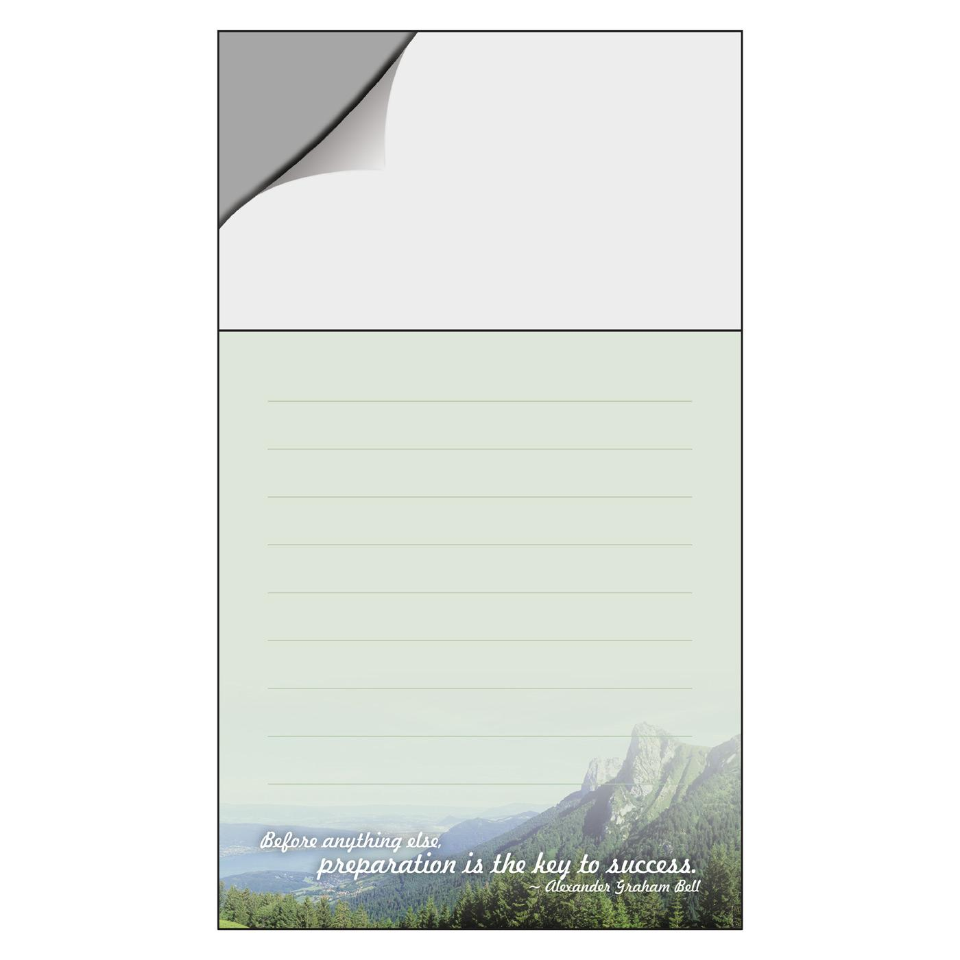 mailable marketing notepad