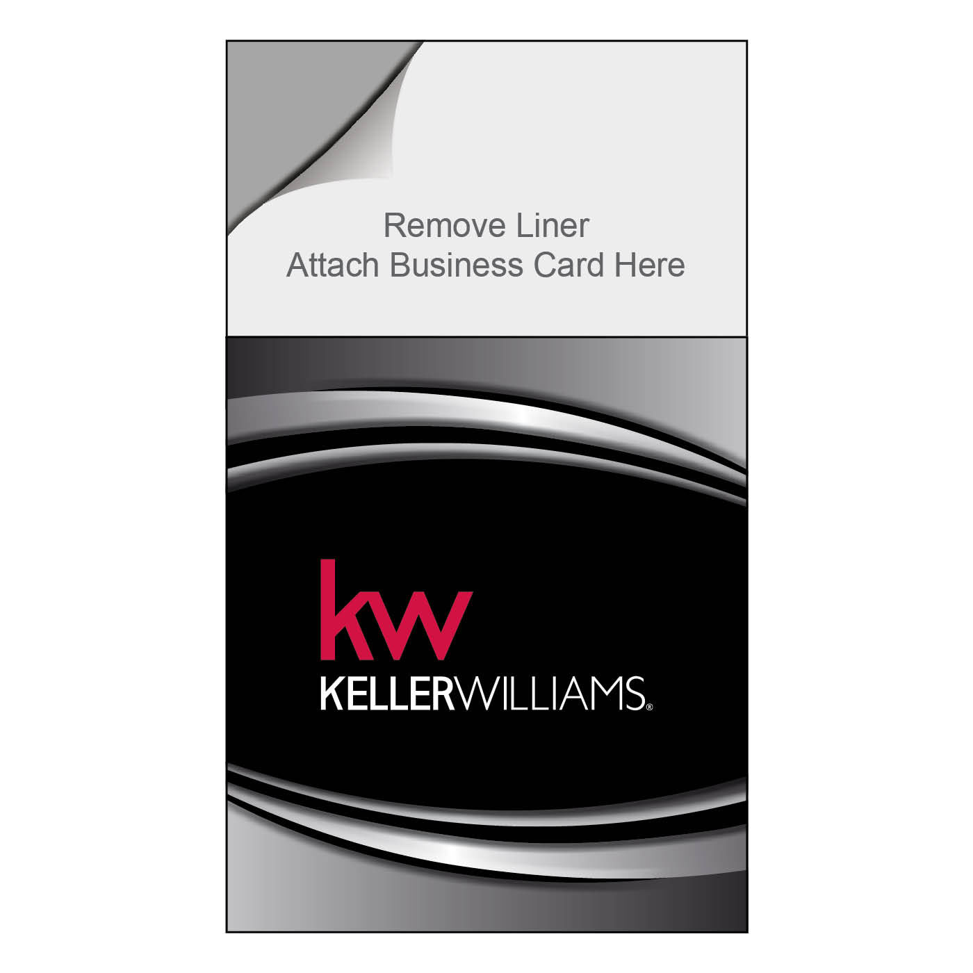 Keller Williams Magnetic Notepad