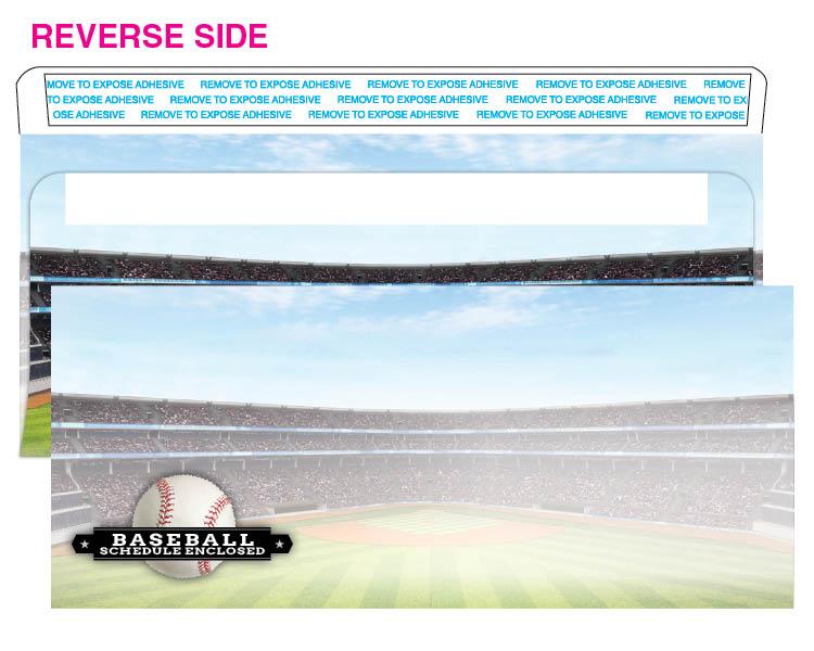 Baseball #10 envelope