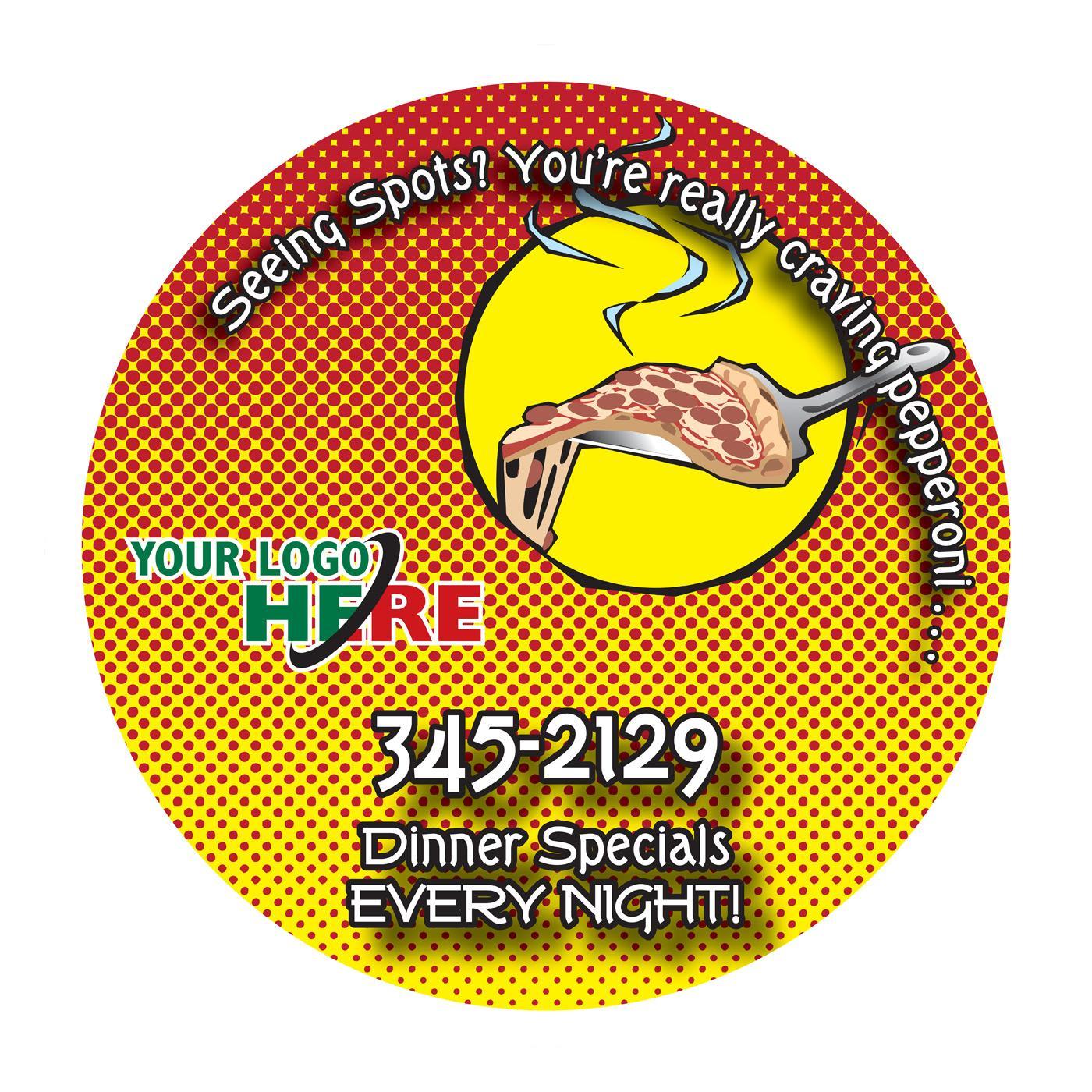 Seeing Spots Restaurant Magnet