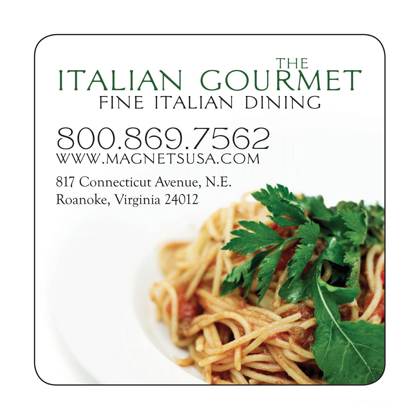 Italian Restaurant Fridge Magnet