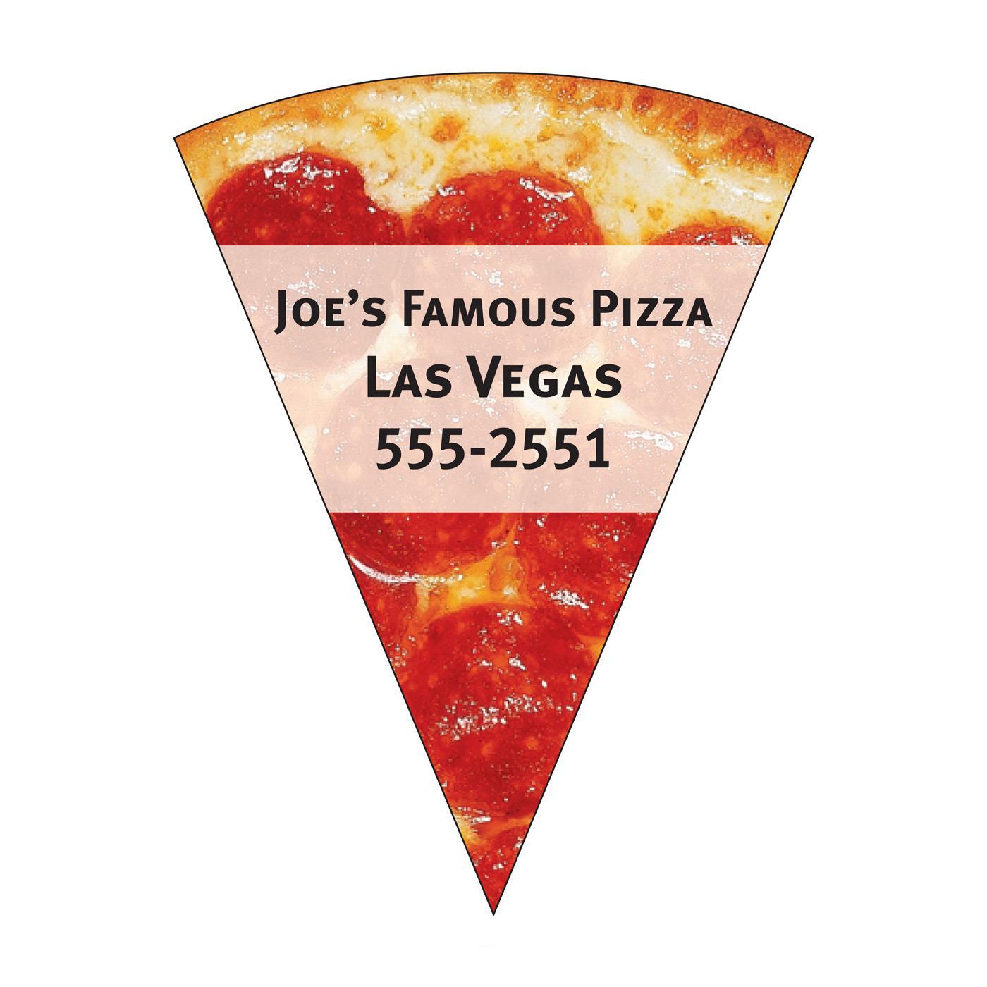 Pepperoni Pizza Slice Fridge Magnet