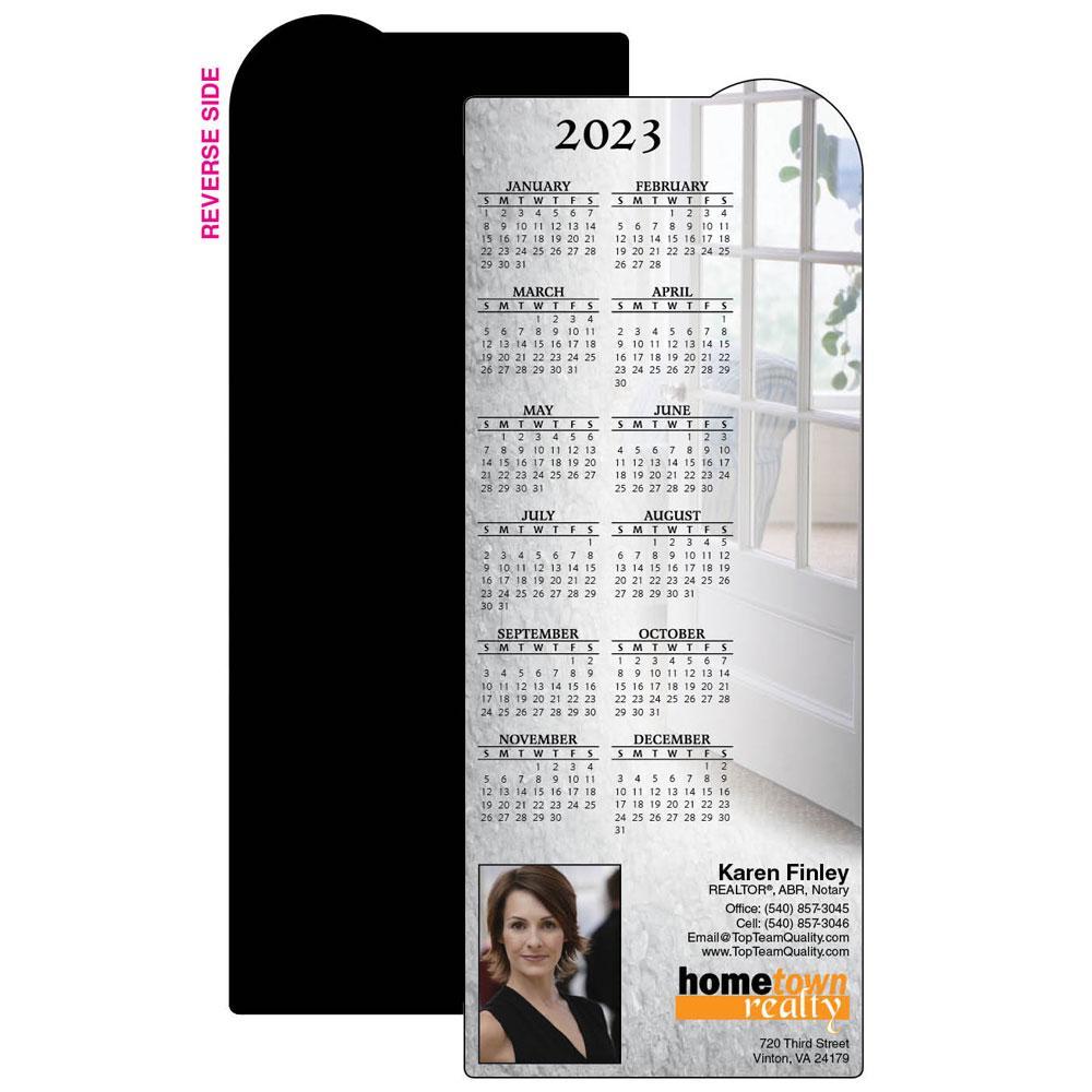 Calendar Magnet with Sunroom Scene
