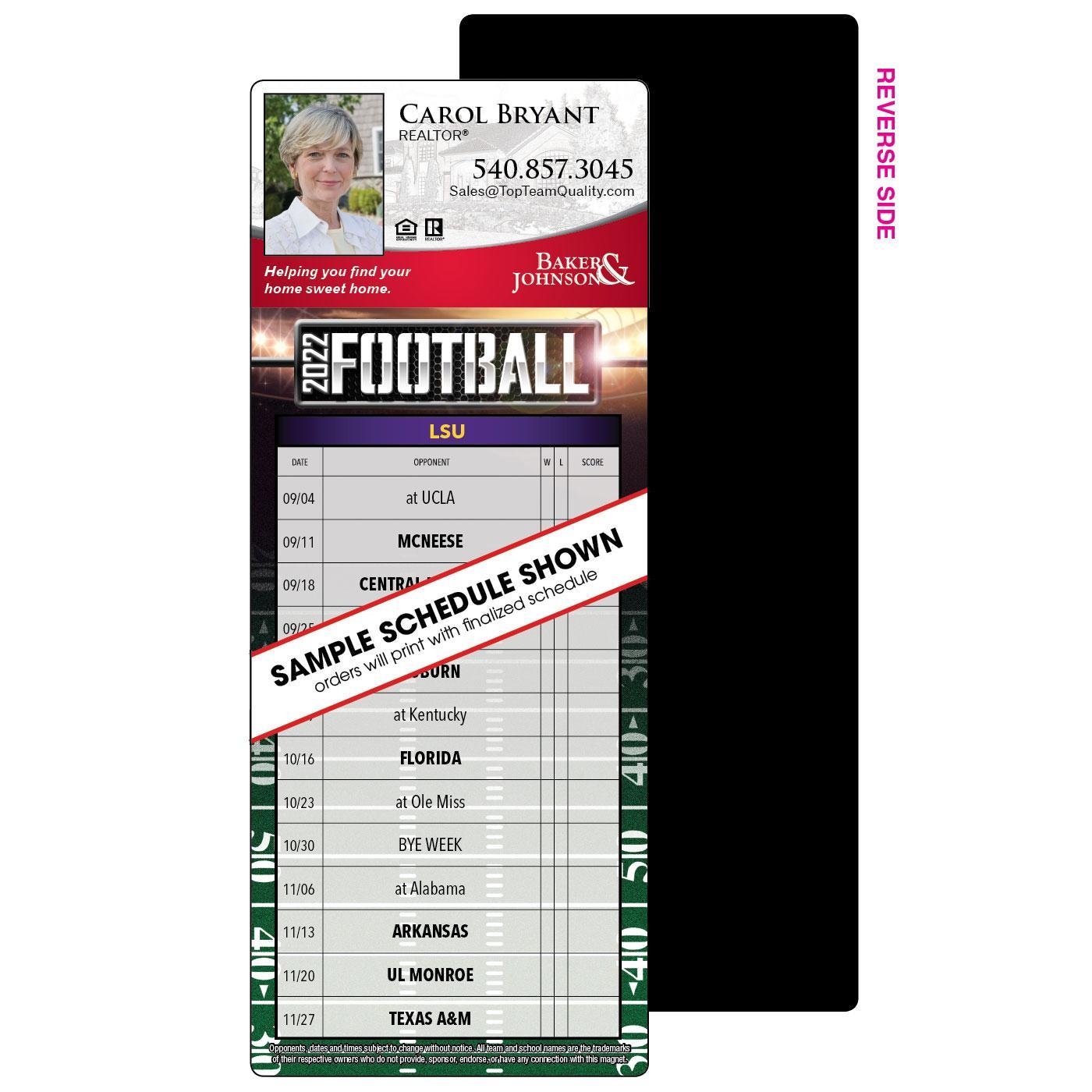 Full Magnet Football Schedule